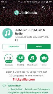 Jio Free Caller Tune